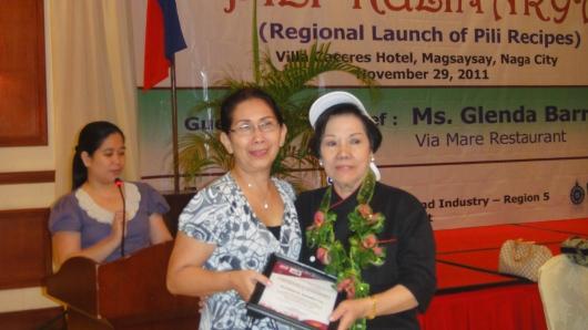 Pili Kulinarya, November 29, 2011, Villa Caceres Hotel, Naga City