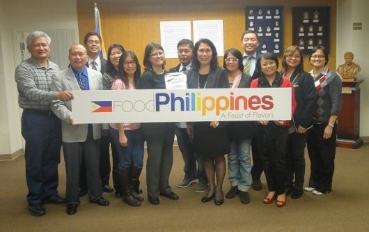 Stakeholders on pili nut development pose for photos after the Pili Nut Forum held at the Philippine Consulate