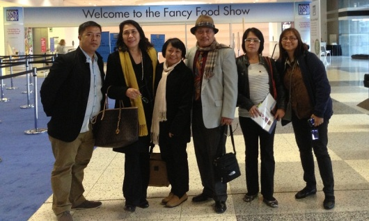 The Bicol Delegation during the opening of the Winter Fancy Food Show in Moscone Center, San Francisco.