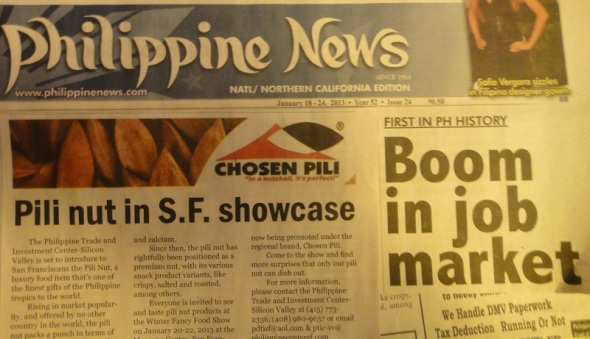 Newspaper Article re Chosen Pili