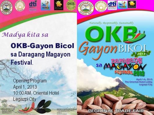 OKB-Gayon Bicol sa Magayon Festival